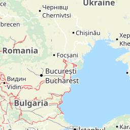 kaart italie bij bari