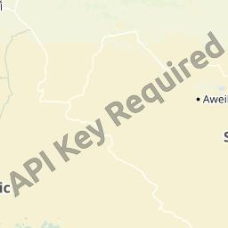 中央アフリカ地図 - 中央アフリ...