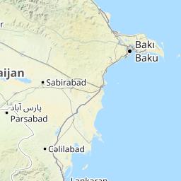 アゼルバイジャン地図 - アゼル...